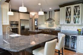 Kitchens With Dark Wood Cabinets Contemporary Kitchen Design Dark Wood Cabinets Large Pantry