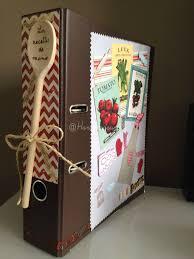 classeur cuisine un cadeau pour la fête des mamie handmade by