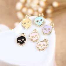 halloween charm bracelet popular skull phone charm buy cheap skull phone charm lots from