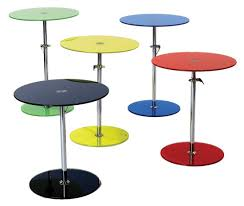 adjustable height side table adjustable height side table contemporary end tables houzz