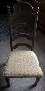 inexpensive dining room chair upcycle with situational flair