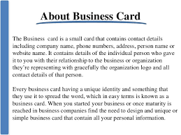 Creating Business Cards In Word Create Business Card In Microsoft Outlook