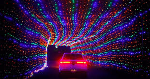 drive by christmas lights this city near toronto has the most insane drive thru christmas