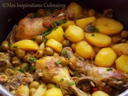 poulet cuisine poulet aux olives le cuisine de samar