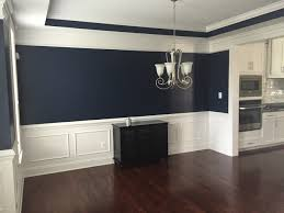 What Color Should I Paint My Dining Room Absolutely Love This Navy Blue Color In Our Dining Room Sherwin