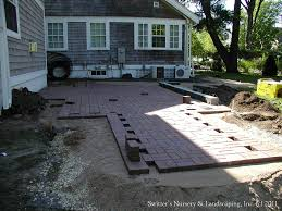 Paver Patio Installation by Clay Paver Dinning Patio With Natural Stone Raised Planter U2026 Flickr
