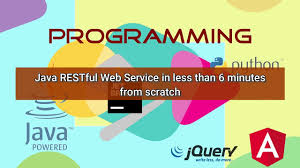 tutorial web service java programming java restful web service in less than 6 minutes from