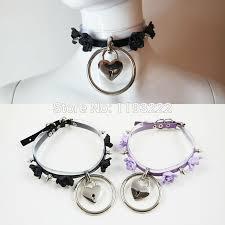 key choker necklace images Women handmade lolita clear transparent vinyl leather choker stud jpg