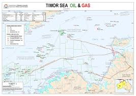 Gas Map Businessmapsaustralia U2014 Timor Sea Oil And Gas Map