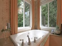 Bathroom Bay Window Bay Window Dressing Ideas And Treatment Incredible Home Decor