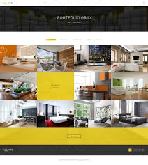 home interior business arc interior design decor architecture business psd template idolza