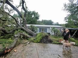 polk suffers some storm damage tornado strikes winter haven