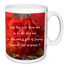 happy birthday design for mug fiancee gifts to india