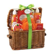 Bathroom Gift Baskets Verbena Spa Gift Set
