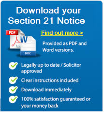 free solicitor approved section 21 notice of possession guide
