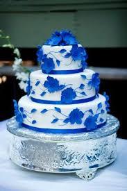 wedding cake royal blue blue wedding cakes http www cake decorating corner