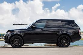 Range Rover Sport Hre S209 In Satin Black Hre Performance Wheels