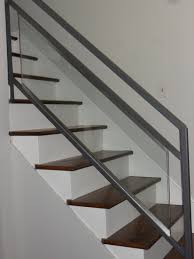 Wood Interior Handrails Stair Railing Wood And Steel Staircase Gallery