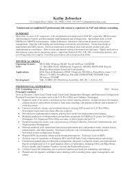 Sample Payroll Resume by Business Objects Resume Sample Haadyaooverbayresort Com