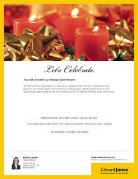 you are invited to celebrate edward jones christmas open house greater niagara chamber of