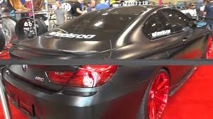 matte red bmw matte black bmw m6 with carbon fiber body kit and red rims youtube