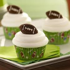 football cupcakes easy football cupcakes wilton