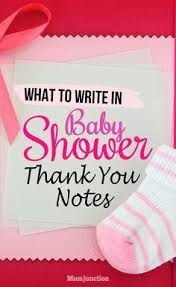 baby shower notes baby shower thank you notes how to write and what to write with
