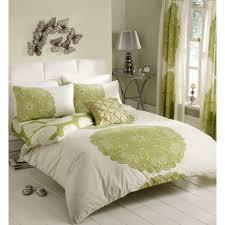 gaveno cavailia manhattan duvet cover set in cream and green