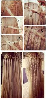 hair braiding styles step by step follow this step by step tutorial to get the perfect waterfall