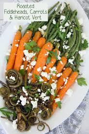 cuisine haricot vert roasted fiddleheads carrots haritcot vert we are not martha