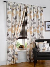 hamilton mcbride tropica natural fully lined readymade curtain
