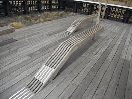 Wood Bench Designs Decks by 30 Best Creative Benches Images On Pinterest Street Furniture