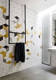 top 6 bathroom tile trends for 2017 geometric tiles bathroom