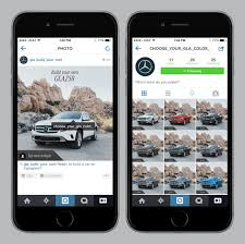 build mercedes now you can build your own mercedes on instagram