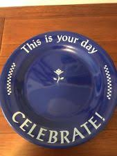 celebrate plate pered chef celebrate plate ebay