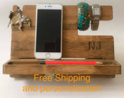 diy wood charging station docking stations etsy