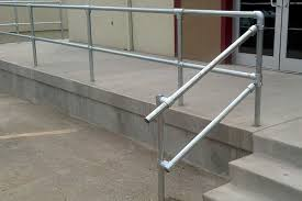 How To Put Up A Handrail A Simple Handrail For Stairs On Porch Or Deck Simplified Building