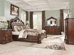 ashley furniture b705 ledelle queen king sleigh bed frame bedroom