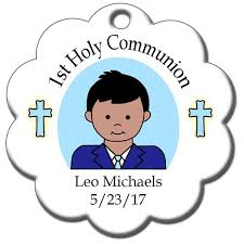 communion christmas ornament personalized communion christmas ornament boy mandys