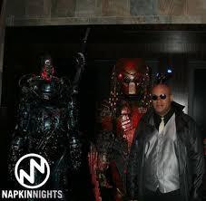 Terminator Halloween Costume Robocop Terminator Predator Morpheus Zoogunner
