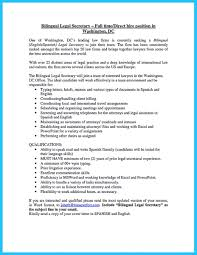 Sample Resume In English by Fluent In English And Spanish Resume Resume For Your Job Application