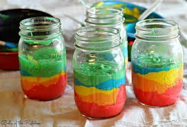 jar cakes jar rainbow cake of the kitchen