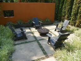 Outdoor Concrete Patio Concrete Patio Designs Modern With Umbrella Tilting Offset