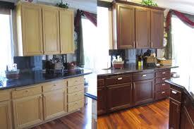 cabin remodeling change kitchen cabinet color ts 140389227