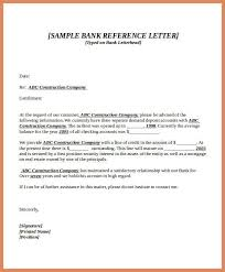 bank reference letter template samples csat co