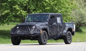 jeep pickup jeep wrangler pickup spotted