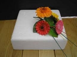 wedding cake flowers gerberas