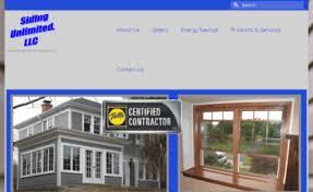 sidingunlimited com website siding unlimited your exterior home