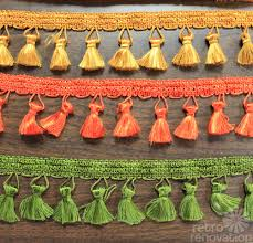 Decorative Trim For Curtains Colorful Trim For Your Cafe Curtains Valance Or Window Shade