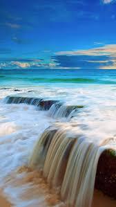 ocean explore wallpapers sea wave waterfall iphone 5s wallpaper download iphone